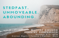 baptist church ministry conference