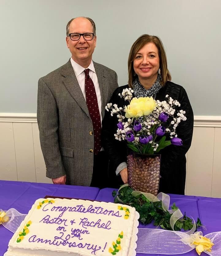 Pastor and Rachel 20th anniversary